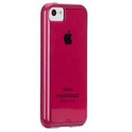 Case-Mate Pink / White Bumper NKD Tough Case for Apple iPhone 5C