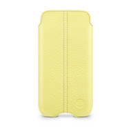 Beyza Yellow ZERO Leather Case for Apple iPhone 5C