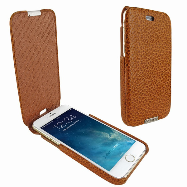 Piel Frama 676 Tan Karabu iMagnum Leather Case for Apple iPhone 6 / 6S / 7 / 8