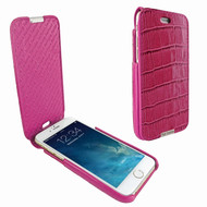 Piel Frama 676 Pink Crocodile iMagnum Leather Case for Apple iPhone 6 / 6S / 7 / 8