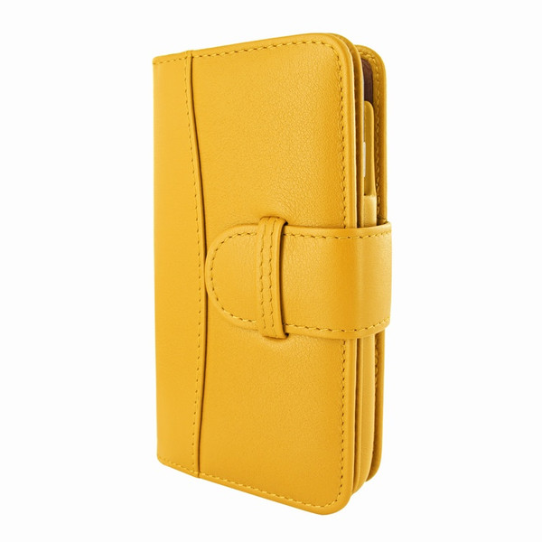 Piel Frama 678 Yellow Leather Wallet for Apple iPhone 6 / 6S / 7