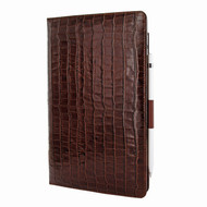 Piel Frama 823 Brown Crocodile Cinema Magnetic Leather Case for Apple iPad Air (2019)