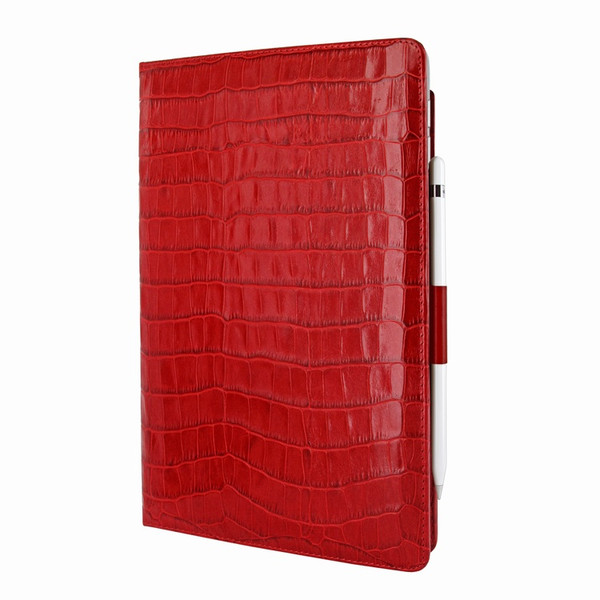 Piel Frama 823 Red Crocodile Cinema Magnetic Leather Case for Apple iPad Air (2019)