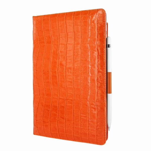 Piel Frama 823 Orange Crocodile Cinema Magnetic Leather Case for Apple iPad Air (2019)
