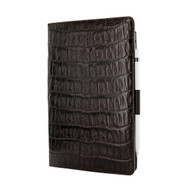 Piel Frama 823 Brown Wild Crocodile Cinema Magnetic Leather Case for Apple iPad Air (2019)