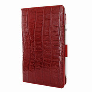 Piel Frama 823 Red Wild Crocodile Cinema Magnetic Leather Case for Apple iPad Air (2019)