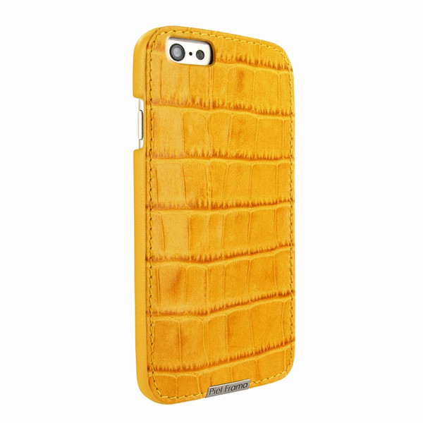 Piel Frama 683 Yellow Crocodile FramaGrip Leather Case for Apple iPhone 6 / 6S