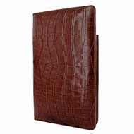 Piel Frama 825 Brown Crocodile Cinema Magnetic Leather Case for Apple iPad mini