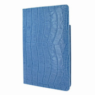 Piel Frama 825 Blue Crocodile Cinema Magnetic Leather Case for Apple iPad mini (2019)