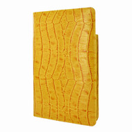 Piel Frama 825 Yellow Crocodile Cinema Magnetic Leather Case for Apple iPad mini (2019)