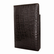 Piel Frama 825 Brown Wild Crocodile Cinema Magnetic Leather Case for Apple iPad mini (2019)