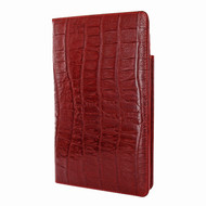 Piel Frama 825 Red Wild Crocodile Cinema Magnetic Leather Case for Apple iPad mini (2019)