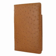 Piel Frama 825 Tan Ostrich Cinema Magnetic Leather Case for Apple iPad mini (2019)