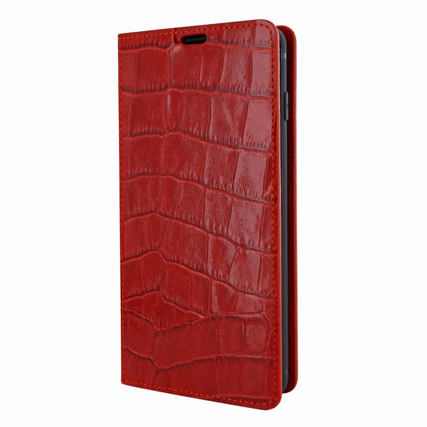 Piel Frama 821 Red Crocodile FramaSlimCards Leather Case for Samsung Galaxy S10 Plus