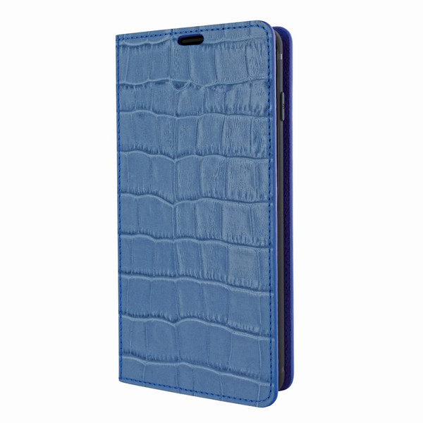 Piel Frama 821 Blue Crocodile FramaSlimCards Leather Case for Samsung Galaxy S10 Plus