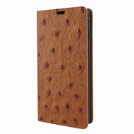 Piel Frama 821 Tan Ostrich FramaSlimCards Leather Case for Samsung Galaxy S10 Plus