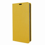 Piel Frama 820 Yellow FramaSlimCards Leather Case for Samsung Galaxy S10