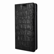 Piel Frama 820 Black Crocodile FramaSlimCards Leather Case for Samsung Galaxy S10