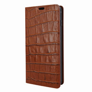 Piel Frama 820 Brown Crocodile FramaSlimCards Leather Case for Samsung Galaxy S10