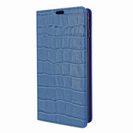 Piel Frama 820 Blue Crocodile FramaSlimCards Leather Case for Samsung Galaxy S10
