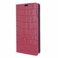 Piel Frama 820 Pink Crocodile FramaSlimCards Leather Case for Samsung Galaxy S10