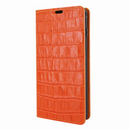 Piel Frama 820 Orange Crocodile FramaSlimCards Leather Case for Samsung Galaxy S10