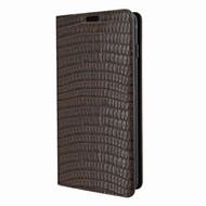 Piel Frama 820 Brown Lizard FramaSlimCards Leather Case for Samsung Galaxy S10