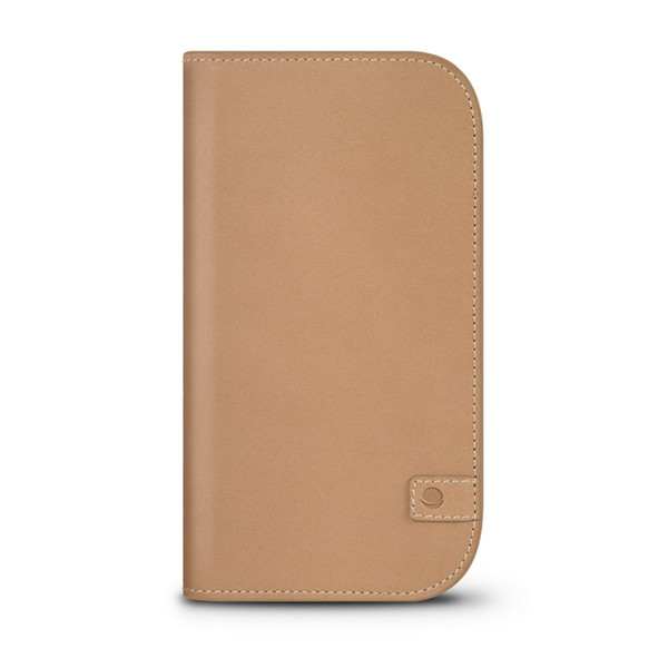 Beyza Camel NATURAL WALLET for iPhone 6