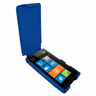 Piel Frama 568 iMagnum Blue Leather Case for Nokia Lumia 900