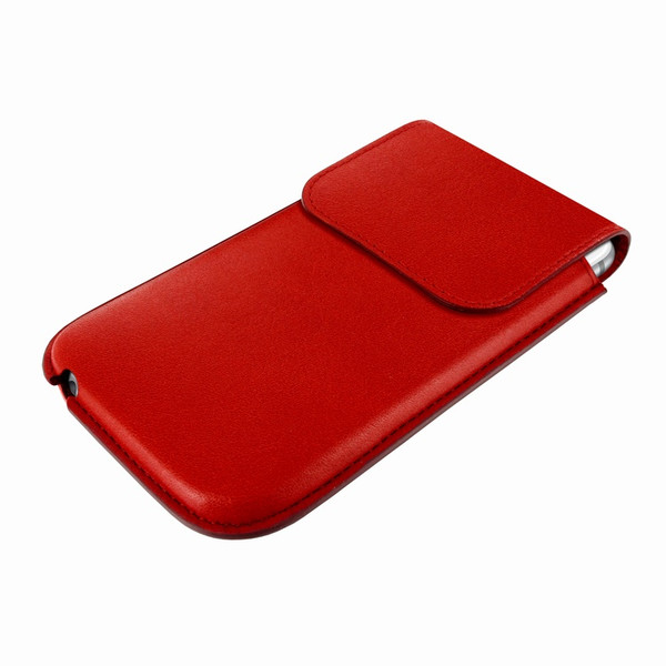 Piel Frama 692 Red Leather Slim Pouch for Apple iPhone 6 Plus / 6S Plus / 7 Plus