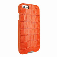 Piel Frama 693 Orange Crocodile FramaGrip Leather Case for Apple iPhone 6 Plus / 6S Plus