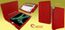 """Piel Frama 695 Red Magnetic Leather Case for Apple iPad Air 2 / iPad 9.7"""" 2017 