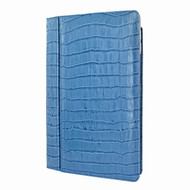 "Piel Frama 695 Blue Crocodile Magnetic Leather Case for Apple iPad Air 2 / iPad 9.7"" 2017 