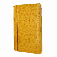 "Piel Frama 695 Yellow Crocodile Magnetic Leather Case for Apple iPad Air 2 / iPad 9.7"" 2017 