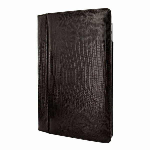 "Piel Frama 695 Brown Lizard Magnetic Leather Case for Apple iPad Air 2 / iPad 9.7"" 2017 