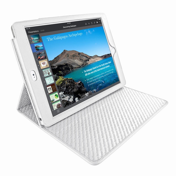 Piel Frama 694 White Cinema Magnetic Leather Case for Apple iPad Air 2