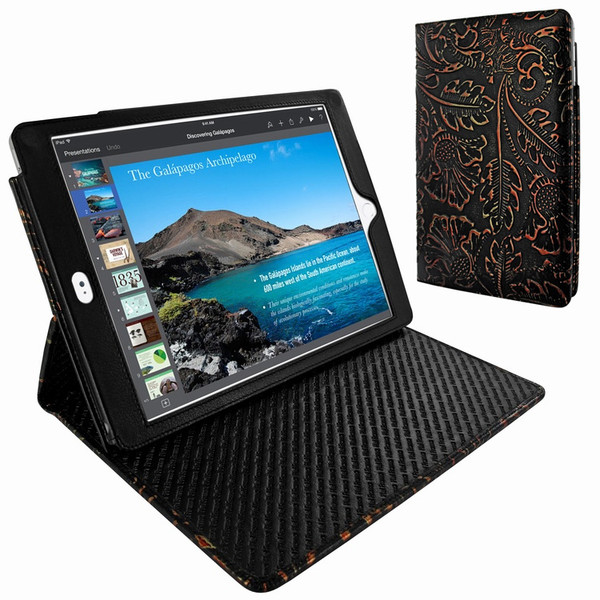 Piel Frama 694 Black Nspire Cinema Magnetic Leather Case for Apple iPad Air 2