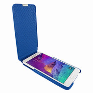 Piel Frama 699 iMagnum Blue Leather Case for Samsung Galaxy Note 4
