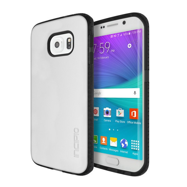 Incipio Frost / Black OCTANE Co-Molded Impact Absorbing Case for Samsung Galaxy S6 Edge