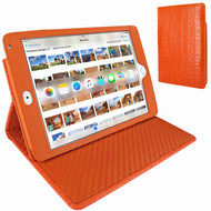 Piel Frama 722 Orange Crocodile Cinema Magnetic Leather Case for Apple iPad mini 4