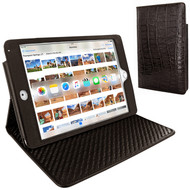 Piel Frama 722 Brown Wild Crocodile Cinema Magnetic Leather Case for Apple iPad mini 4