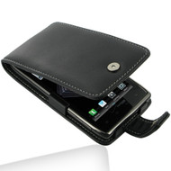 PDair Black Leather Flip-Style Case for Motorola Droid RAZR MAXX