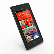 PDair Black Soft Plastic Case for HTC 8X