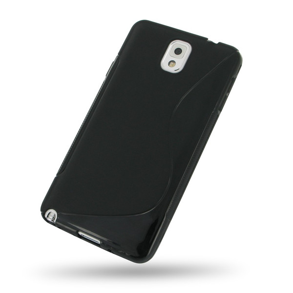 PDair Black Soft Plastic Case for Samsung Galaxy Note 3