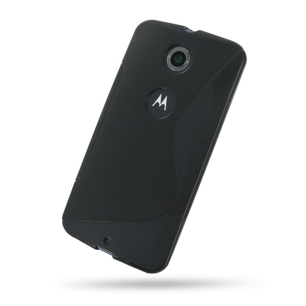 PDair Black Soft Plastic Case for Google Nexus 6