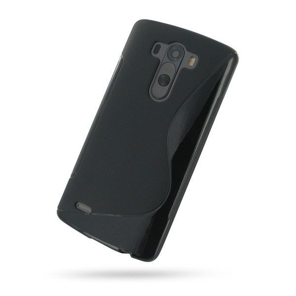 PDair Black Soft Plastic Case for LG G3