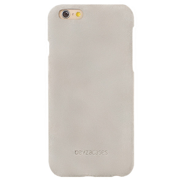 Beyza Grey PUME Nubuk Leather Case for Apple iPhone 6 / 6S