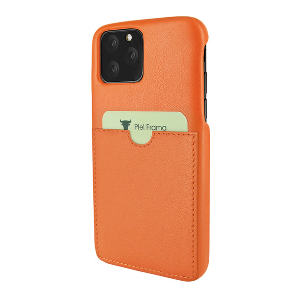 Piel Frama 835 Orange FramaSlimGrip Leather Case for Apple iPhone 11 Pro Max