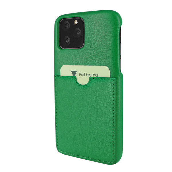 Piel Frama 832 Green FramaSlimGrip Leather Case for Apple iPhone 11 Pro
