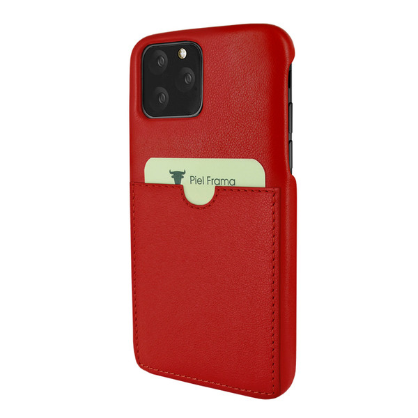 Piel Frama 832 Red FramaSlimGrip Leather Case for Apple iPhone 11 Pro